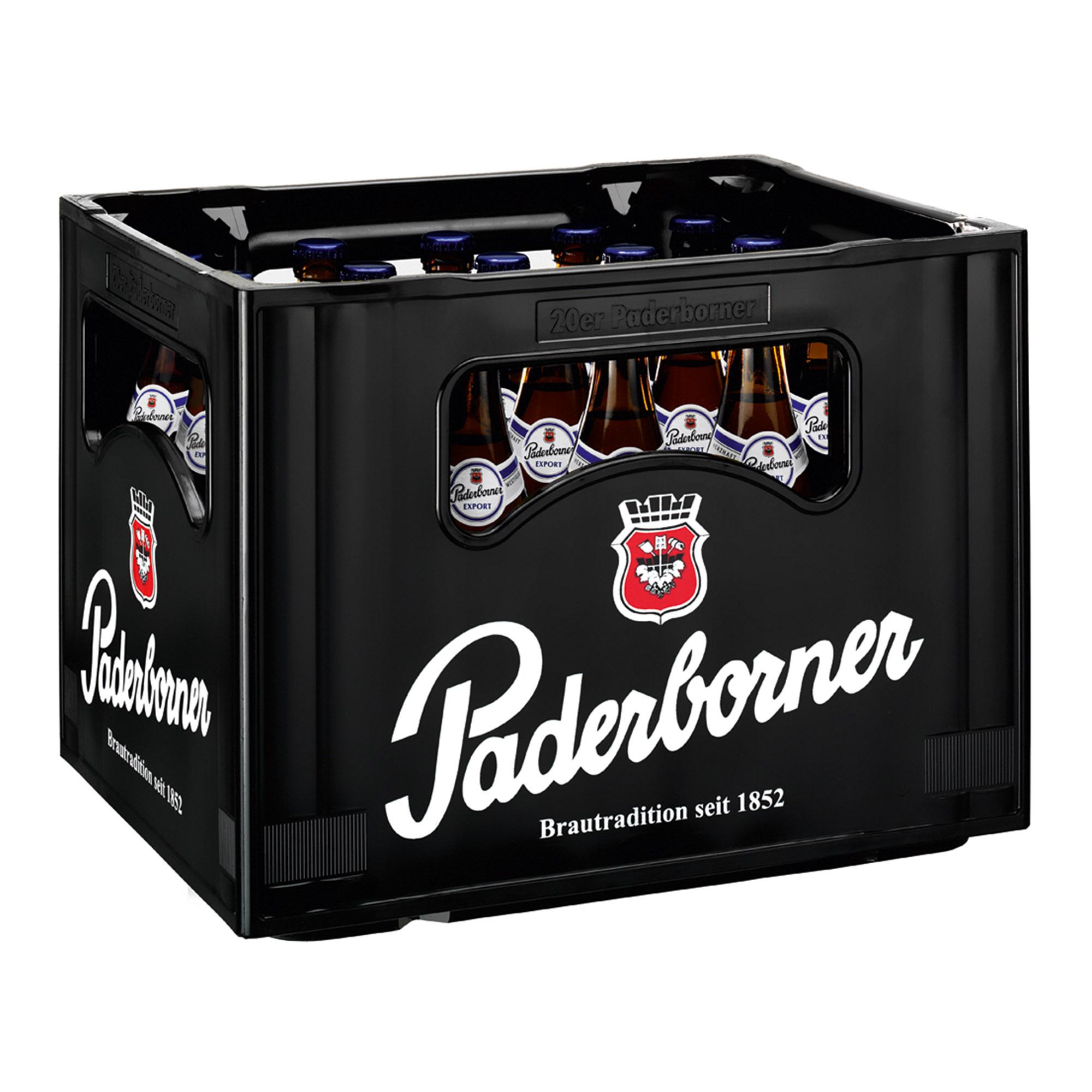Produktabbildung Paderborner Export Kasten 20 x 0,5 l