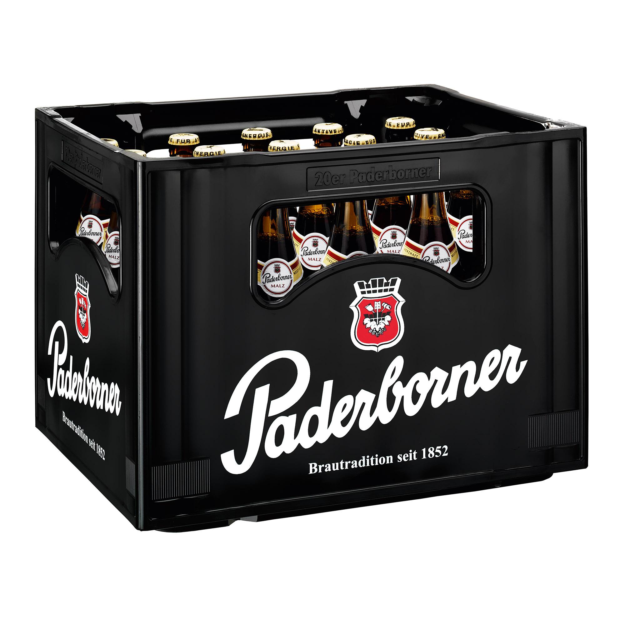 Produktabbildung Paderborner Malz Kasten 20 x 0,5 l