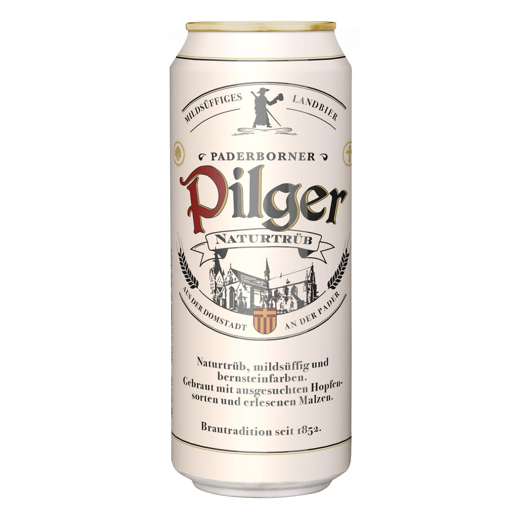 Produktabbildung Paderborner Pilger Landbier Dose 0,5 l