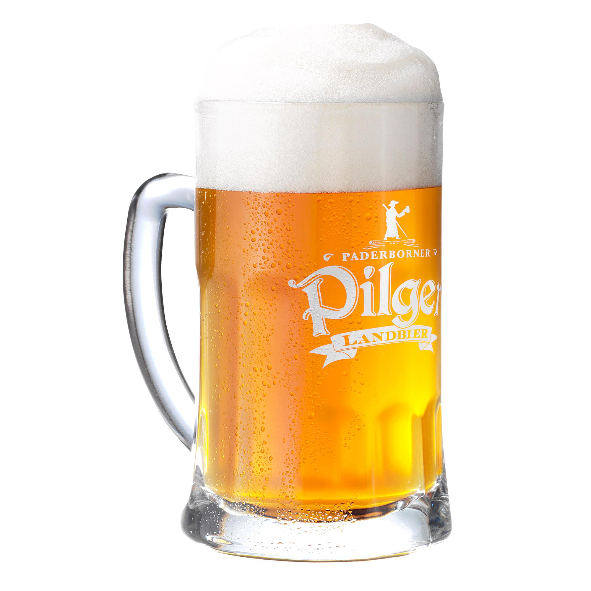 Produktabbildung Paderborner Pilger Landbier Glas 0,3 l