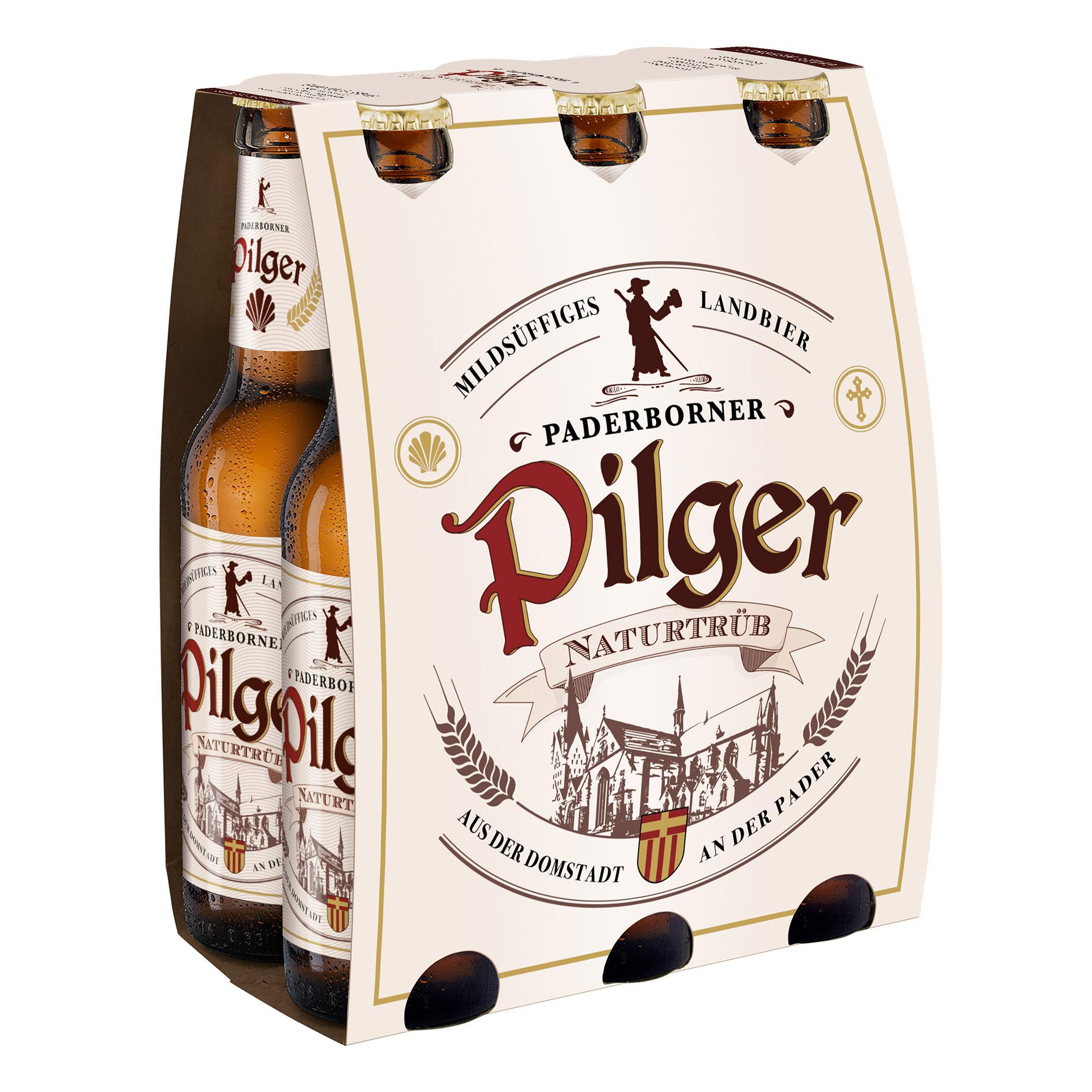 Produktabbildung Paderborner Pilger Landbier Sixpack 6 x 0,33 l