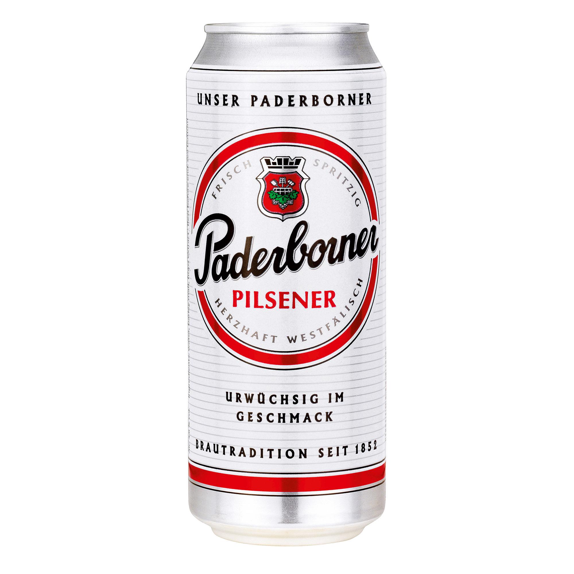 Produktabbildung Paderborner Pilsener Dose 0,5 l