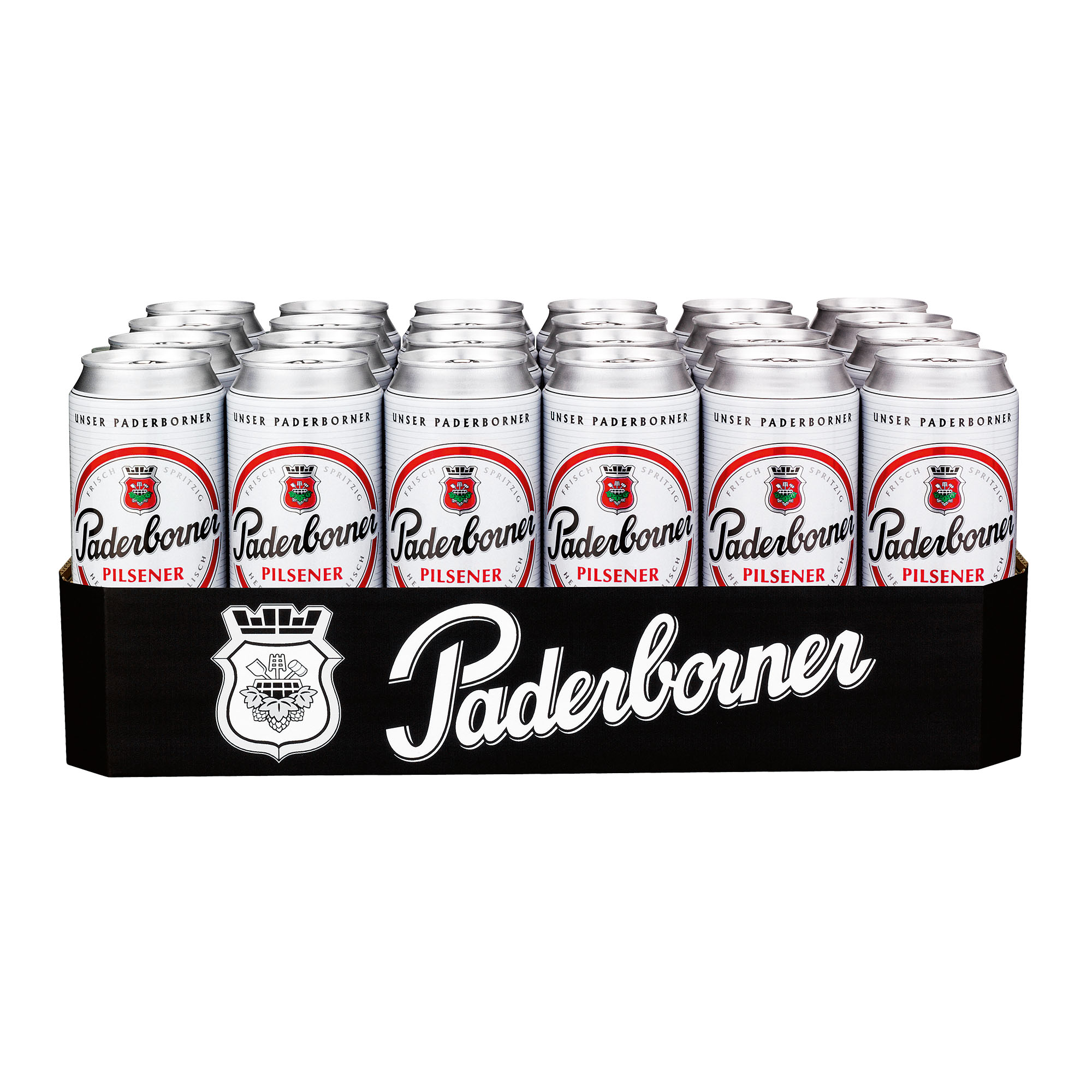 Produktabbildung Paderborner Dosentray 24 x 0,5 l