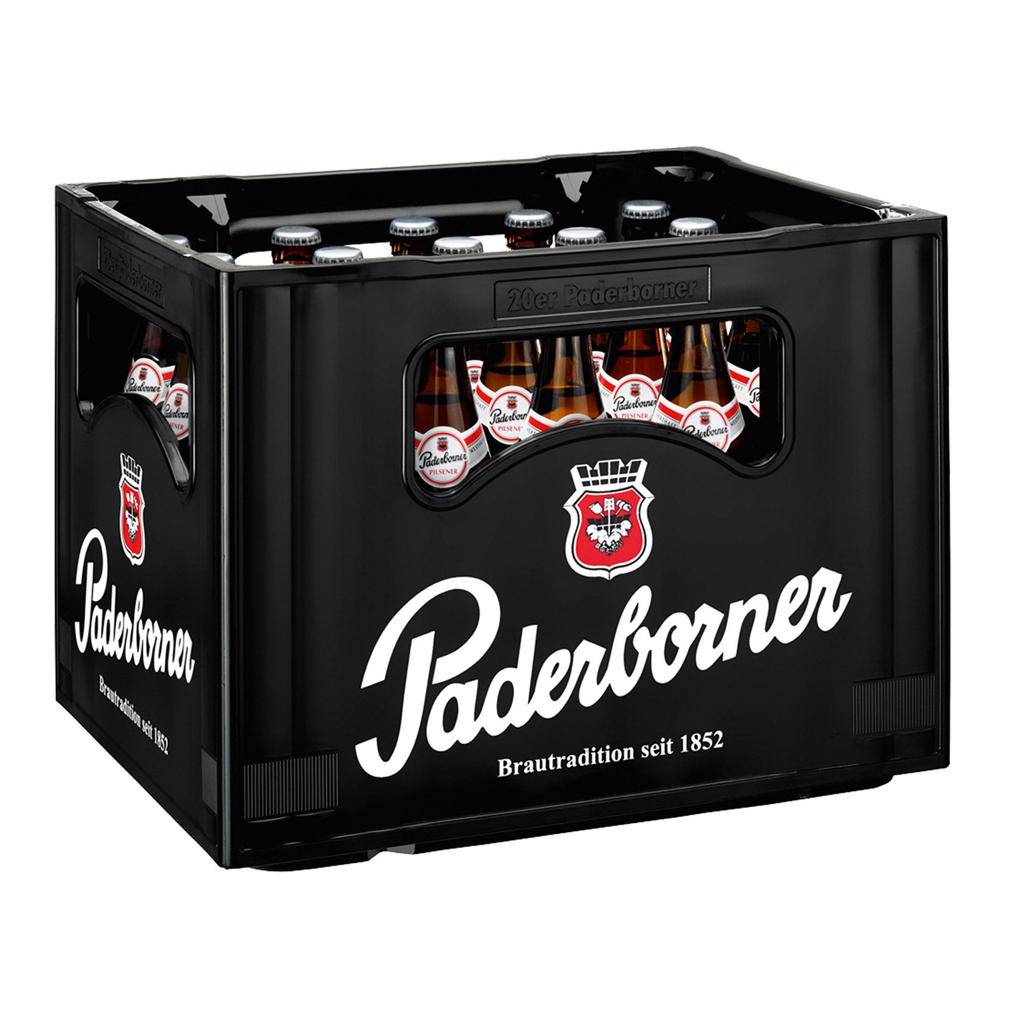 Produktabbildung Paderborner Pilsener Kasten 20 x 0,5 l