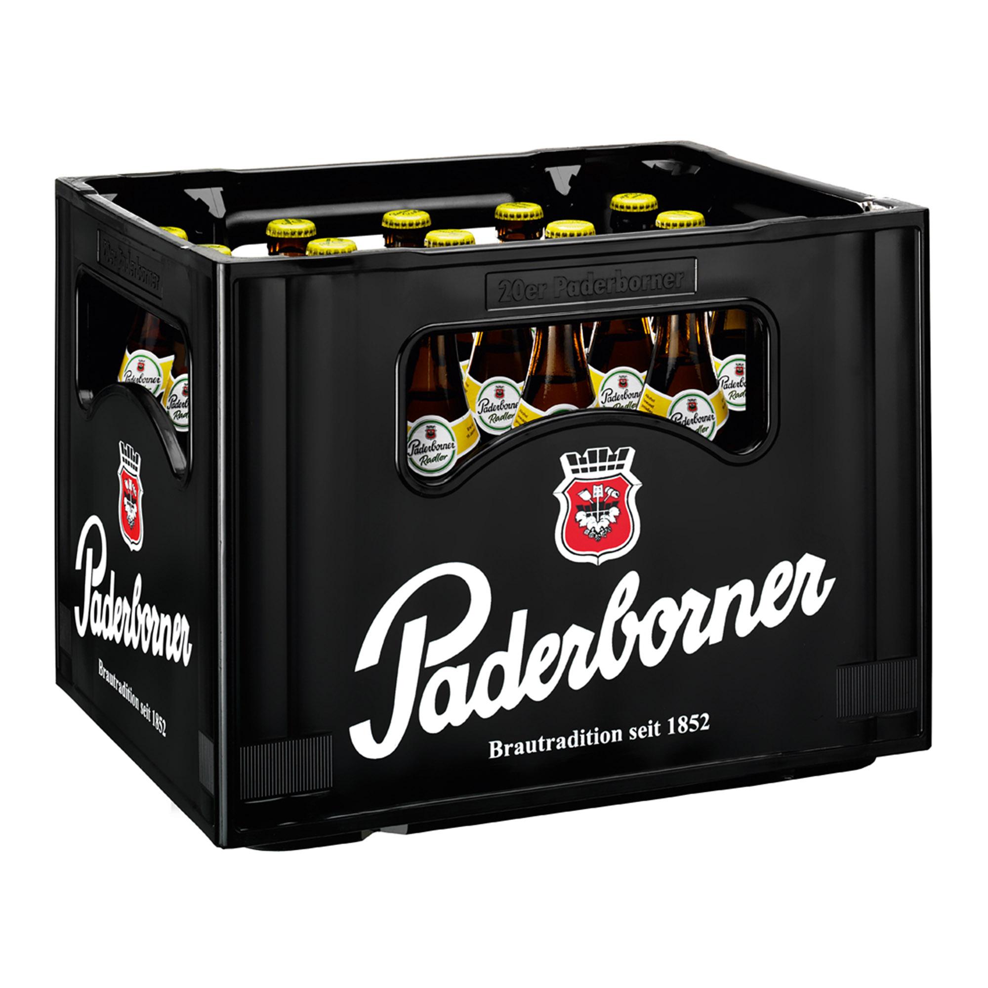 Produktabbildung Paderborner Radler Kasten 20 x 0,5 l