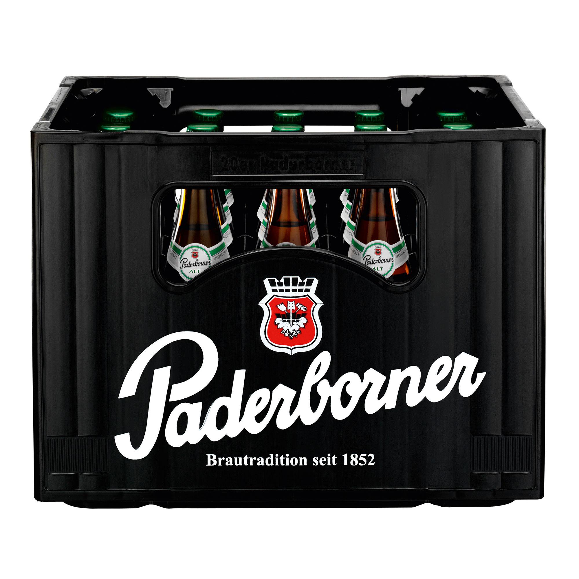 Produktabbildung Paderborner Alt Kasten 20 x 0,5 l