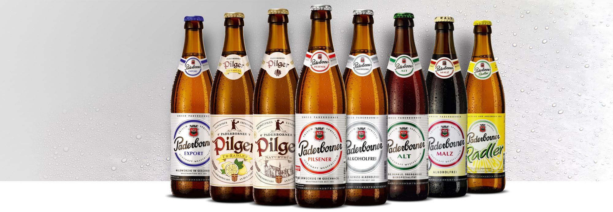Paderborner Brauerei Produkt und Sortiment