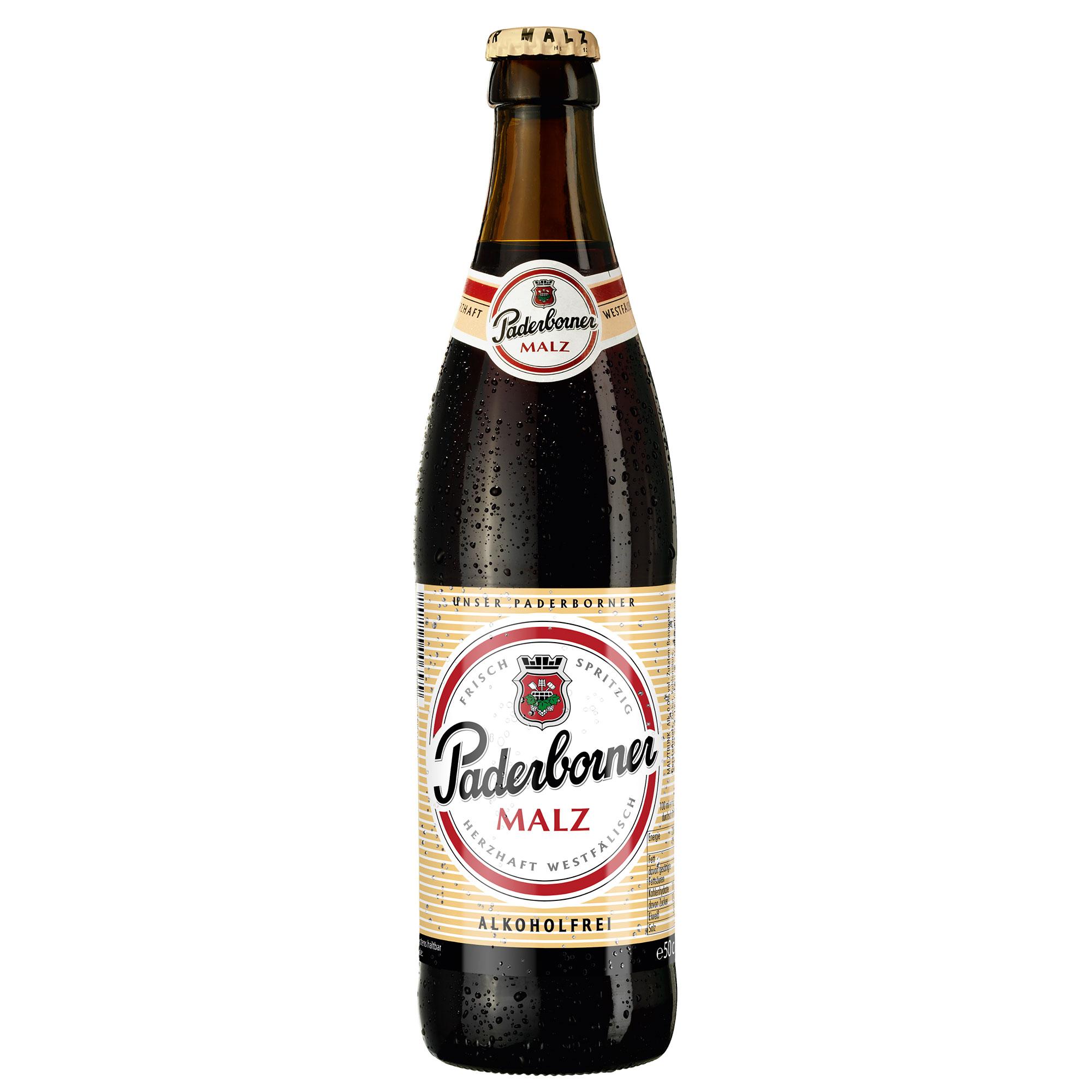 Produktabbildung Paderborner Malz Flasche 0,5 l