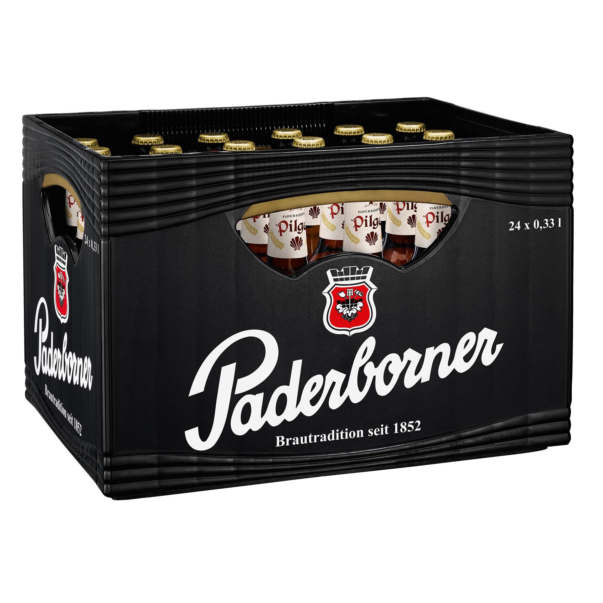 Produktabbildung Paderborner Pilger Landbier Kasten 20 x 0,5 l