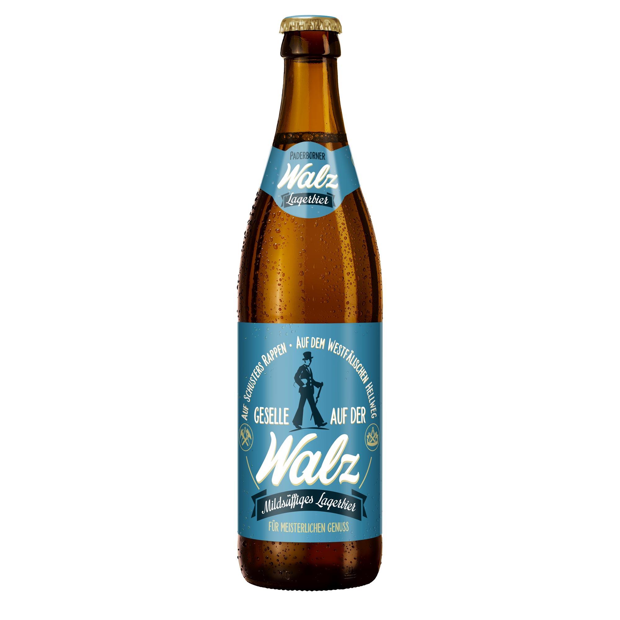 Produktabbildung Paderborner Walz Flasche 0,5 l